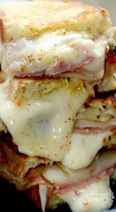 Habanero Jack Grilled Cheese with Pears & Prosciutto