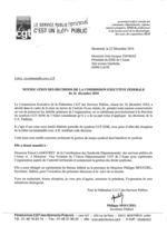 gayraud dominique mise sous tutelle agents collectivités  SDIS CGT 02