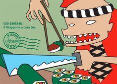 Promocard multisoggetto di promozione del servizio di Food Delivery Etnico DELIRAMA Peanuts Comics, Delivery, Graphic Design, Art, Art Background, Kunst, Performing Arts, Visual Communication, Art Education Resources
