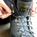 Lacing Hiking Boots to prevent heel blisters- maybe this will work? Nothing else does for me.