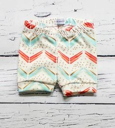 Arrow Chevron Baby Shorts | As comfy as they are adorable, these printed baby shorts featu... | Baby & Toddler Bottoms