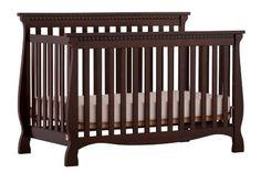 Amazon.com: Stork Craft Venetian 4-in-1 Fixed Side Convertible Crib, Espresso: Baby