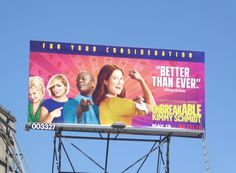 The Unbreakable Kimmy Schmidt is back for her third season and it looks like her positive spirit is as undaunted as ever, rolling up her . Unbreakable Kimmy Schmidt, I Site, Season 3, Billboard, Netflix, The Originals, Tv, Poster Wall, Television Set