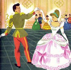 https://flic.kr/p/6G1Guz   Cinderella's prince   from Walt Disney's Cinderella,A Little Golden Book,1950