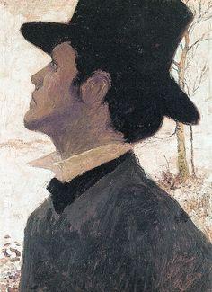 Self-Portrait, Heinrich Vogeler. Germany (1872 - 1942)