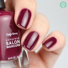 Sally Hansen – Scarlet Fever – swatch by frischlackiert
