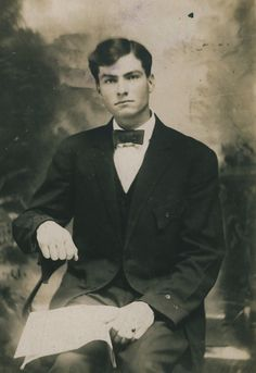 Portrait of a Handsome Young Man c.1909