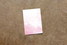 Modern Marble Mini Notecard Favor