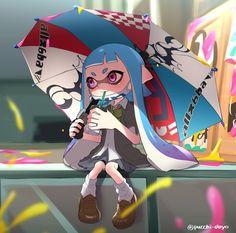 Splatoon - Umbrella Fashion