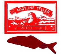 Wonderful and very inexpensive party favor from MagicTricks.com - little fish wriggles and flops around in your hand all by itself!