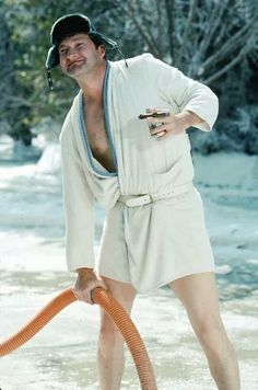 The Great Character theme for the month: Christmas characters. Today: Cousin Eddie in Christmas Vacation, written by John Hughes. Here is Jason Cuthbert's weekly Great Character post: Thank you… Christmas Vacation Costumes, Christmas Character Costumes, Christmas Vacation Quotes, Christmas Characters, Christmas Movies, Christmas Holidays, Merry Christmas, Xmas, Christmas Door