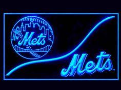 New York Mets Cool Display Shop Neon Light Sign