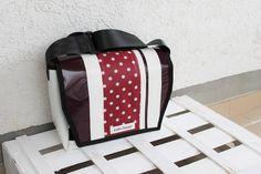 Tasche LKW Plane // Messenger Bag aus LKW-Plane -individuelles Einzelstück-