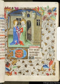Book of Hours, MS M.84 fol. 24r - Images from Medieval and Renaissance Manuscripts - The Morgan Library & Museum