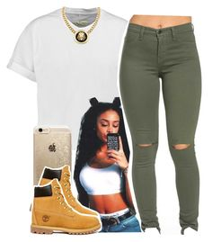 """"""""""" by trillest-princess101 ❤ liked on Polyvore featuring rag & bone, Roial, Rifle Paper Co, Timberland, women's clothing, women's fashion, women, female, woman and misses"""