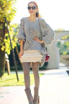 Early Autumn Knit Wear.