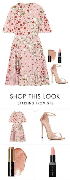 """""""Untitled #1196"""" by h1234l on Polyvore featuring Valentino, Stuart Weitzman, Bobbi Brown Cosmetics and Smashbox"""