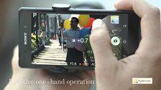 Lens-style Camera ILCE-QX1 - go smarter.