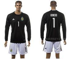 http://www.yjersey.com/argentina-1-romero-goalkeeper-2016-copa-america-centenario-2016-copa-america-centenario-long-sleeve-soccer-jersey.html ARGENTINA 1 ROMERO GOALKEEPER 2016 COPA AMERICA CENTENARIO 2016 COPA AMERICA CENTENARIO LONG SLEEVE SOCCER JERSEY Only 35.00€ , Free Shipping!