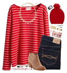 """""""#EmAndSum3k • READ D!"""" by chevron-elephants ❤ liked on Polyvore featuring Forever 21, Abercrombie & Fitch, Dolce Vita, Maybelline, Kate Spade, Bobbi Brown Cosmetics, Mela Loves London, Kendra Scott, By Terry and Essie"""