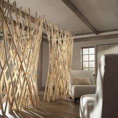 Zen Screen by Phillips Collection - Trend Award Design 2019 Decor, Home Diy, Interior Design Living Room, Asian Home Decor, House Design, Diy Home Decor, Home Decor, House Interior, Wall Design