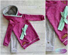 Ein Outfit für mein Mädchen💙 www.facebook.com/lilaundmint  #Nähbeispiel  #Staghorn #minimissy #Hoodie #haarbandknoten #namijda #Selfmade #handmade #melianskreativesstoffchaos #Eigenproduktionlace #Mädchen #outfit #Nähen
