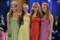 Prom night on The Suite Life on Deck on the Disney Channel in 2010. (Photo by Eric McCandless/Disney Channel via Getty Images)
