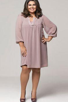molde de costura gratis vestido camisero talla grande gorditas