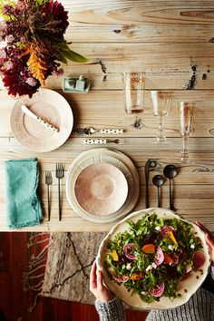 EVERYTHING IN ITS PLACE: SETTING THE TABLE JUST SO While we're not always sticklers for...
