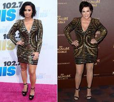 Knapp vier Jahrzehnte trennen Sängerin Demi Lovato (23) und Kim Kardashians Mutter Kris Jenner (60) – die Glam-Looks von Balmain scheinen allerdings generationenübergreifende Begeisterung auszulösen. Denn die ungleichen Fashionistas trugen das klassische kleine Goldene des High-Luxury-Labels innerhalb von nur zwei Tagen bei – zum Glück – mehrere Tausend Kilometer voneinander entfernten Events.