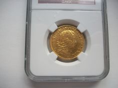 Guinea 1716  S3631 Slabbed by NGC XF40 £2400  http://bit.ly/1uKF0c6
