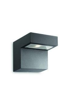 Venkovní svítidlo LED PHILIPS 16320/93/16 (Riverside)   Uni-Svitidla.cz Moderní nástěnné svítidlo s integrovaným LED zdrojem #outdoor, #light, #wall, #front_doors, #style, #modern, #led