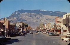 Mountain Cody Wyoming  much like the old wild west
