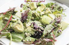Easy Healthy Recipe – Clean Eating Apple Avocado Salad