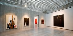 Clyfford Still Museum and other beautiful Denver wedding venues. Detailed info, prices, photos for Colorado wedding reception locations. Clyfford Still, Arts And Crafts Storage, Tv Decor, Bouldering, Be Still, Art Museum, Wedding Venues, Gallery, Outdoor Decor