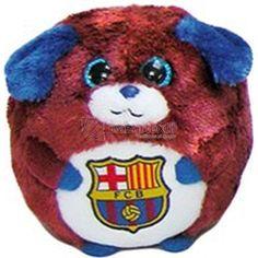 Peluche Futbol Club Barcelona Dog - Bazartextil.com