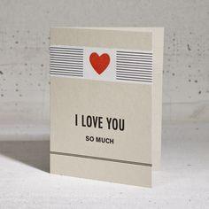 HAMMERPRESS | I Love You Red Heart