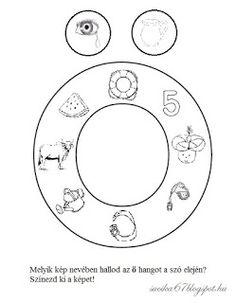 Játékos tanulás és kreativitás: Kisbetűkben képek a hangfelismerés gyakorlásához Dysgraphia, Worksheets, Symbols, Teaching, Education, Grammar, Facebook, School, Decor
