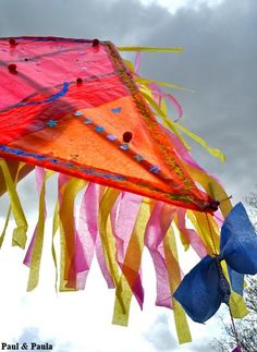 DIY Kite- just as fun to make as it is to fly!
