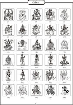 Hindu Logos Invitation Card Design, Invitation Cards, Worli Painting, Hindu Symbols, Hindu Wedding Cards, Ganesha Tattoo, Mata Rani, Page Decoration, Wedding Painting