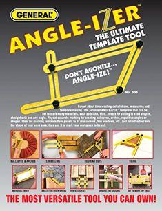 Angle-Izer Ultimate Tile & Flooring Template Tool Multi-Angle Ruler Uk Hot Sale #ebay #Home & Garden