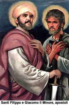 3 de agosto: Santos Felipe y Santiago el Menor, apóstoles.