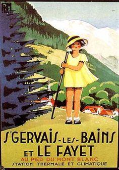 Région : Haute-Savoie - Région : Auvergne-Rhône-Alpes - St. Gervais-les-Bains et Le Fayet - Au Pied du Mont Blanc.