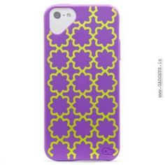 Case Mate iPhone 5 Olo Cloud Case Purple With Daisy Print - OLO022696