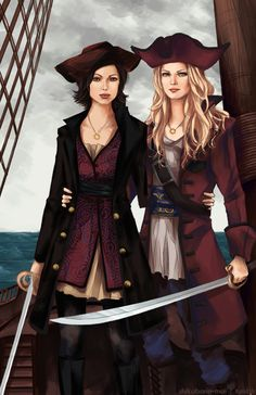 Once Upon a Time - Emma Swan x Regina Mills - SwanQueen