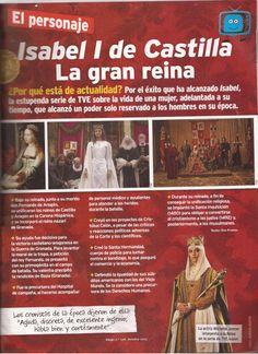 Isabel de Castilla, un ejemplo de presentación de murales sobre un tema histórico (Infografía)