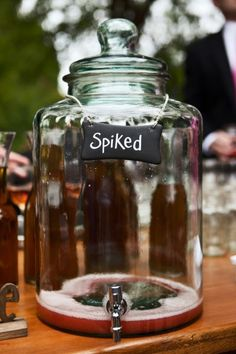 SPIKED! we love this idea from Style Me Pretty | Gallery - ideas for everything from decor to the ceremony to reception
