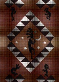 Not a Free Pattern, but  really want this! <3 it!! Kokopelli Stars Crochet Pattern