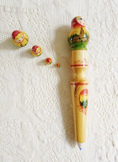 nesting doll pencil