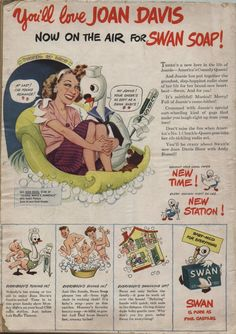 Not many of you will remember Joan Davis..a funny girl of the 40's